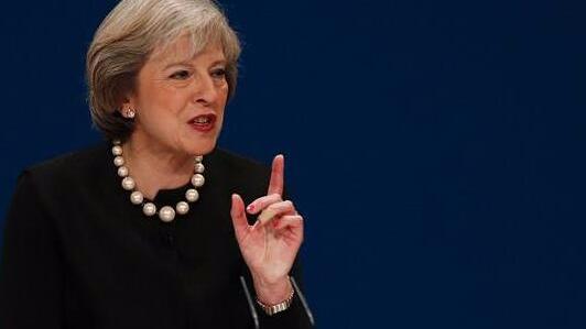 """英首相欧盟总部""""约饭"""" 难破""""脱欧""""谈判僵局"""