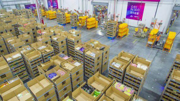 菜鸟超级机器人旗舰仓上线 双十一日均可发货百万