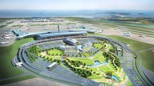 """韩国仁川机场连续12年蝉联""""全球最佳机场"""""""