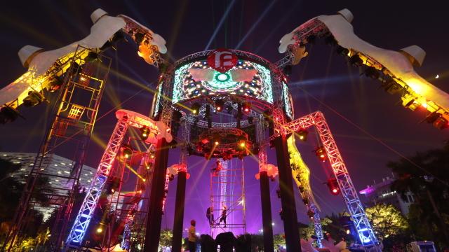 2017广州国际灯光节来啦!赏灯攻略快收好!