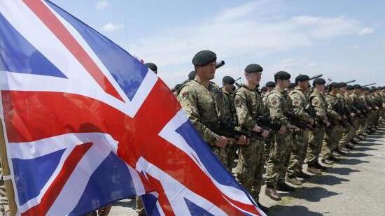 英媒称英国军队无力保护国土:已被低入伍率