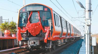"""厉害了!""""中国制造""""地铁将出口美国"""