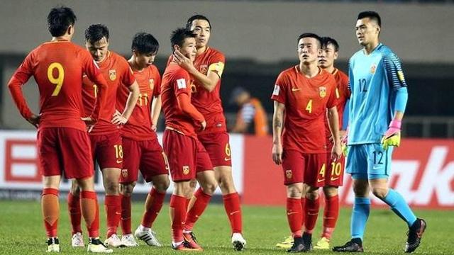外媒:中国男足10月的世界排名预计将超过韩国