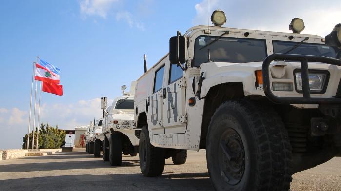中国驻黎巴嫩维和部队参加多国联合实兵实弹演习