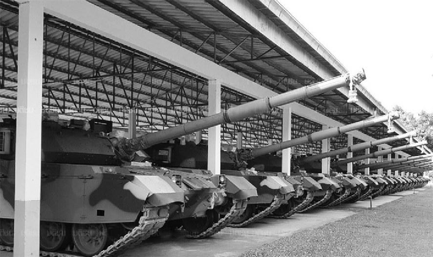 泰国接收首批26辆VT4坦克 中方提前6个月交货