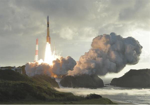 """日本成功发射日版GPS卫星""""引路""""4号"""