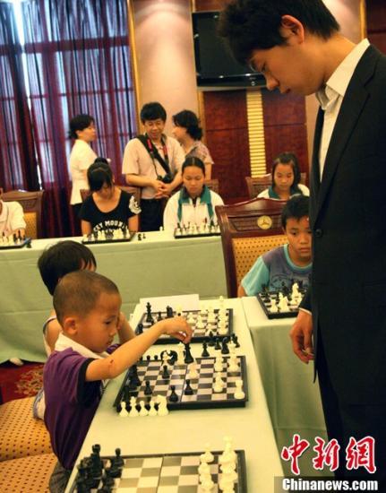 国际象棋。<a target='_blank' href='http://www.chinanews.com/'>中新社</a>发 付美斌 摄