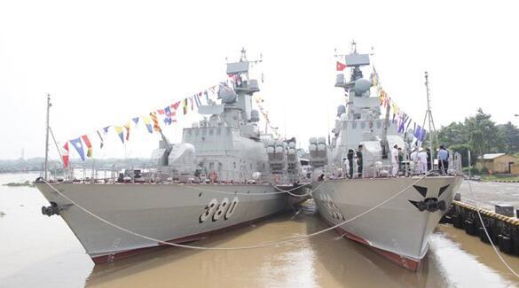 """劣质引擎坑苦越南 全部主力舰或沦为""""军港宅男"""""""