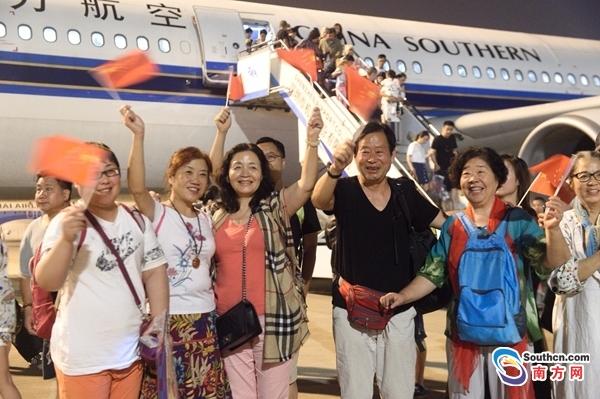 平安抵达!因火山喷发滞留巴厘岛的213名中外旅客被接回深圳