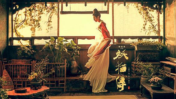 《妖猫传》进入倒计时,11月1日电影再曝光一组人物海报,张雨绮,张榕容