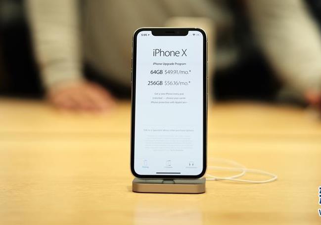 苹果iPhone X在美公开发售