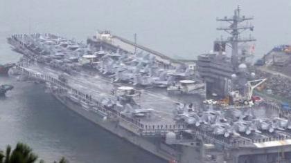 时隔十年 美国三艘航母将在西太平洋举行军演