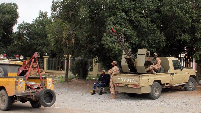 利比亚政府武装力量宣布完全控制首都西南门户
