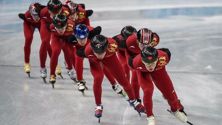 从世界杯上海站看中国短道速滑队冬奥会备战
