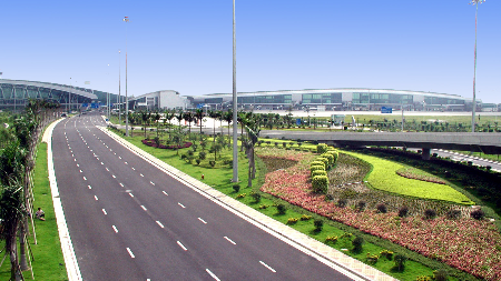广州机场高速延长专用车道 2018年春运有望投入使用
