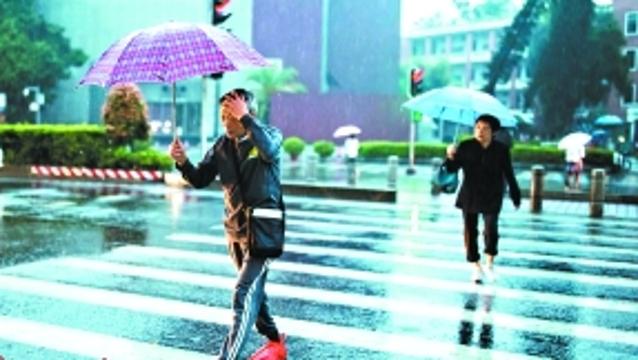 强冷空气周末来袭广州开启降雨模式 最低温或达13℃
