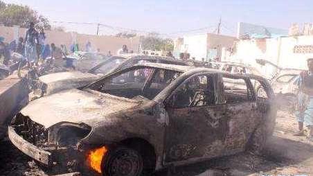 索马里汽车炸弹袭击至少1人死亡