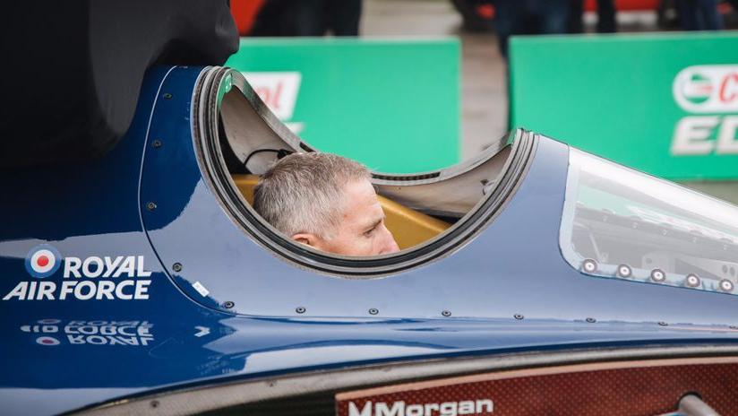 最快火箭汽车在英测试 时速将可达1600公里