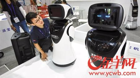 AI新势力席卷高交会 国产明星机器人集体亮相