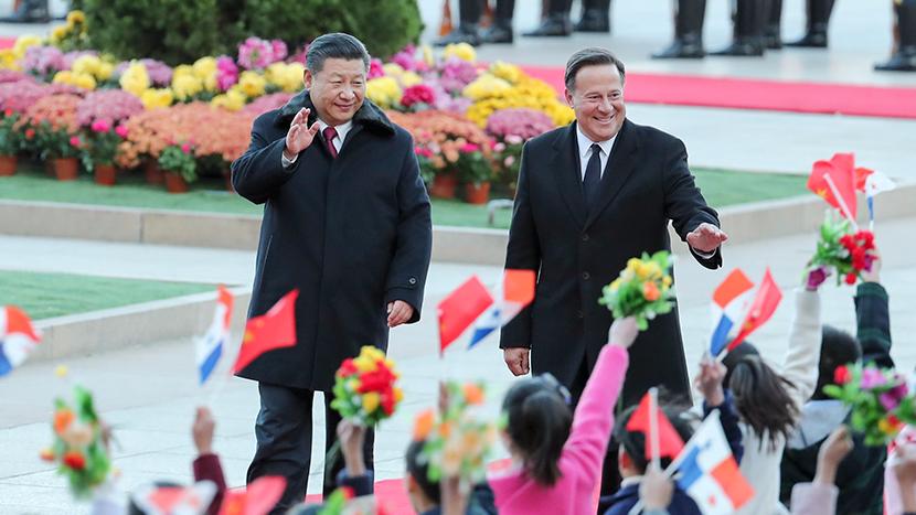 习近平同巴拿马总统巴雷拉举行会谈 两国元首同意共同规划好中巴关系发展蓝图