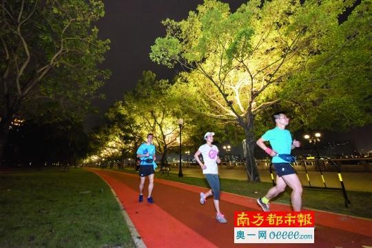 全市首条滨江缓跑径首期工程3公里 将贯穿CBD江畔