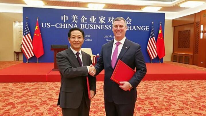 中国签购300架美国大飞机 总值超370亿美元