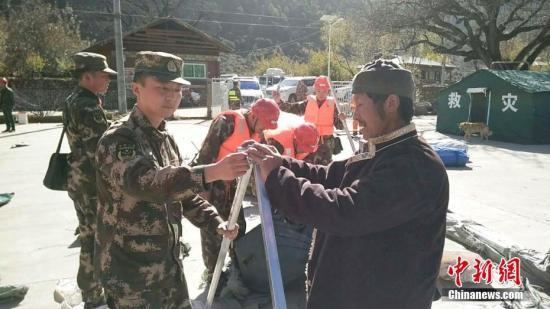 西藏林芝地震无人员遇难报告 各方展开救援