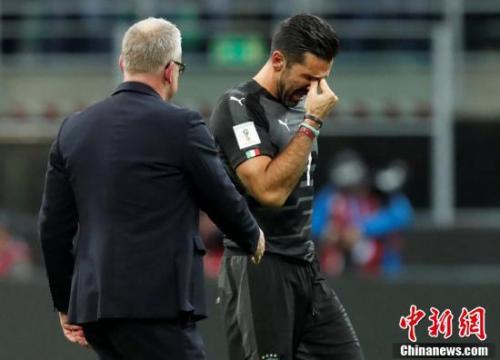 布冯退场,无缘自己的第六次世界杯之旅