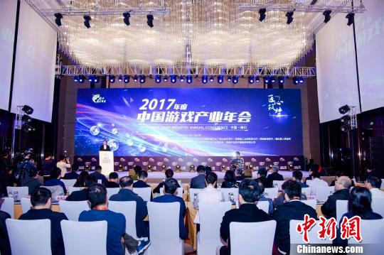 2017中国游戏产业收入超2千亿 移动游戏保持较高收入增长