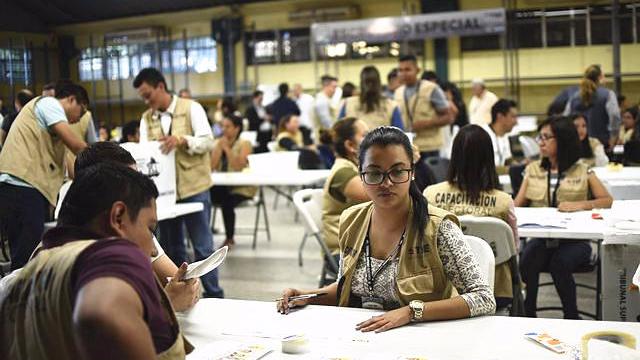 洪都拉斯总统选举计票结束 现任总统得票领先