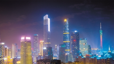 天河CBD迈向世界一流 拿下国家级CBD生产总值第一名