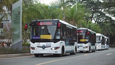 """深圳""""自动驾驶巴士""""试行存法律困境"""