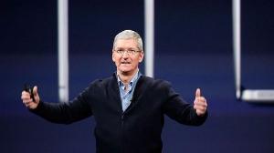 """苹果CEO库克:中国""""工匠精神+先进技术""""对我们很重要"""
