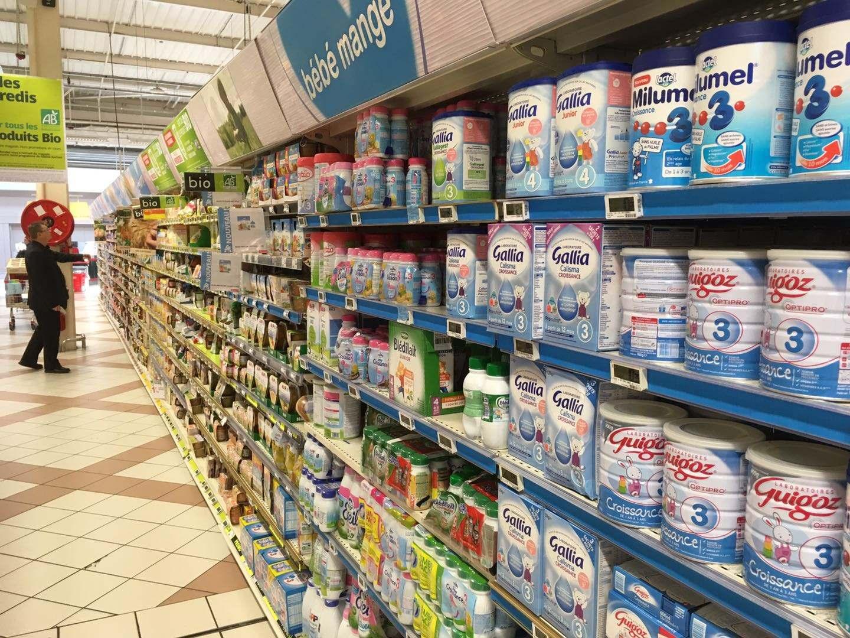 法国乳品巨头召回受污染奶粉 广州主要商超未有销售