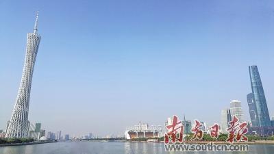 """广州市政府公布""""成绩单"""" 前三季度GDP增长7.3%"""