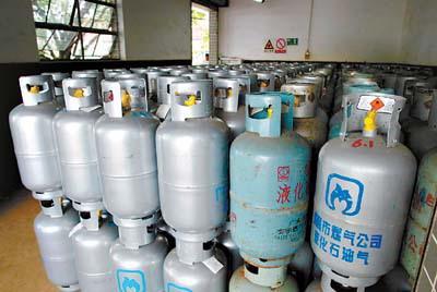 广州瓶装液化气每瓶涨至119元 预计后期仍将小幅上升