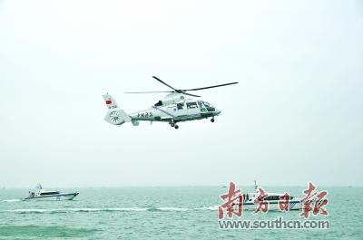 国家海洋督察组(第五组)海陆空立体核查广东海洋资源
