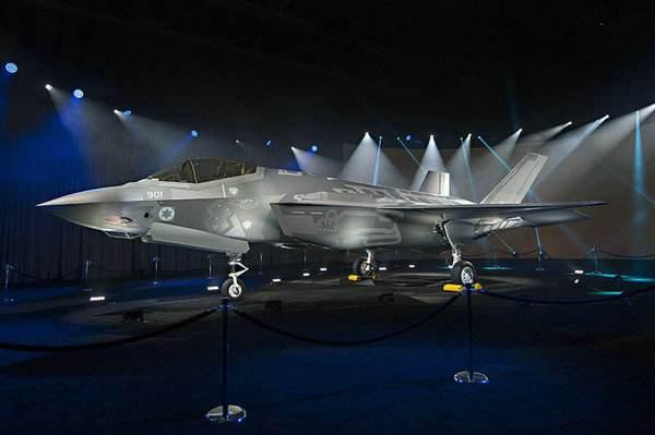 以色列宣布正式列装F35战机 这速度仅次于美国