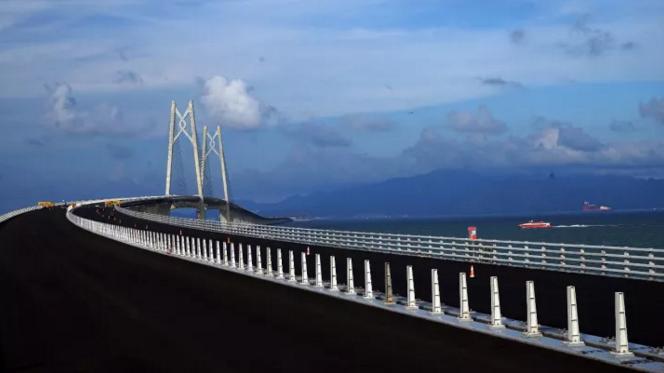 港珠澳大桥距通车还有多远?最新进展都在这里