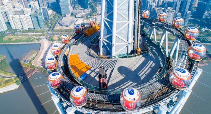 冲上云霄!这样的广州塔顶风光你见过吗?