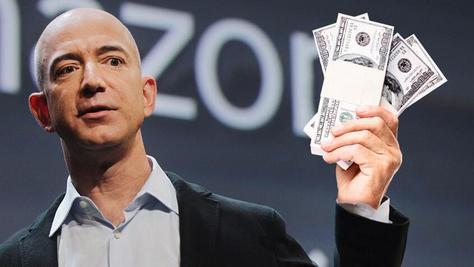 超越盖茨创纪录 亚马逊创始人资产超千亿美元