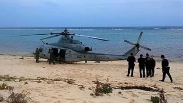 美军机事故不断令日本恼火!冲绳县知事表示无语了