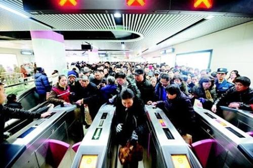 2017年广州地铁运客28亿人次 明年底前再开5条新线