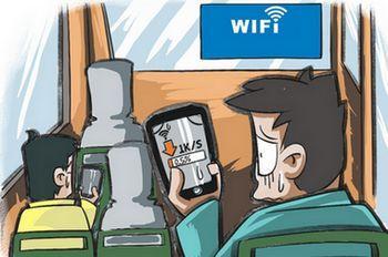 乘客吐槽飞机WiFi连不上 机上互联网爆发要等多久