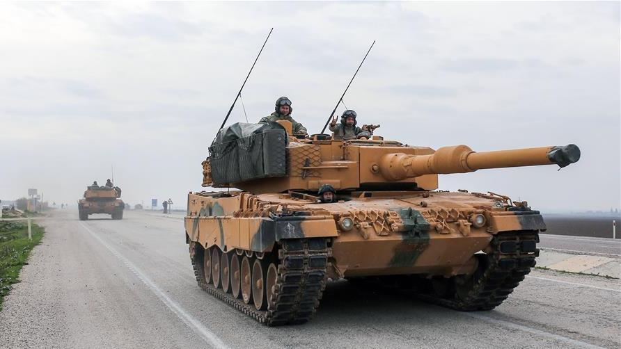 土耳其开始对叙北部阿夫林的地面军事行动