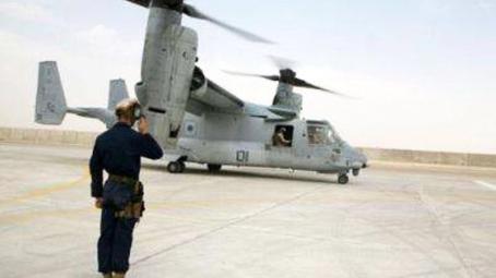 反驳日政府 美军否认直升机在冲绳小学上空飞行