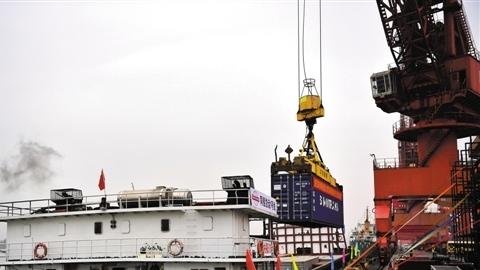 黄埔水上BRT服务来了 破解粤港澳大湾区进出口同船运输难题