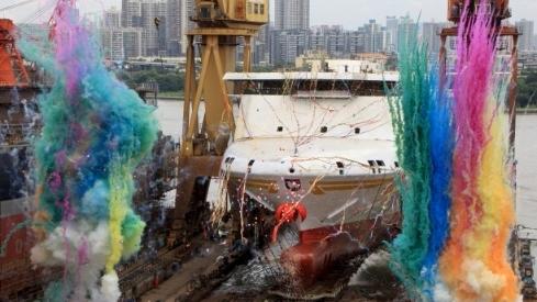 了不起的广州船企!打造出多个全球第一
