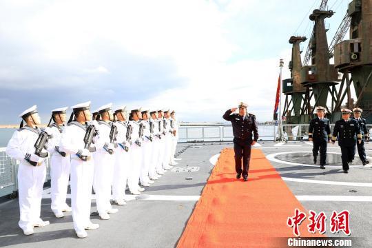 中国海军第二十七批护航编队圆满结束对阿尔及利亚友好访问