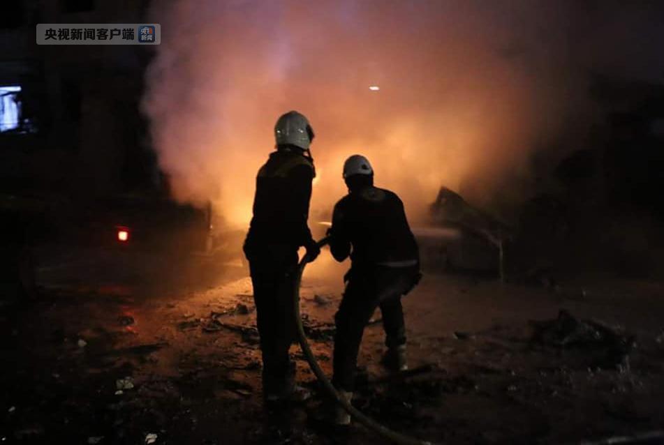 叙反政府武装控制区发生爆炸 致18人丧生数十人伤